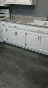 kitchen cabinets and flooring combinations grey wood laminate pinteres