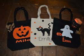 trick or treat bags canvas halloween bags candy sack