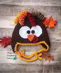 baby thanksgiving hat crochet baby turkey hat turkey flap hat thanksgiving