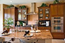 how to decorate the tops of kitchen cabinets lovetoknow