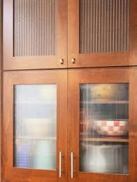 Kitchen Cabinet Door Panels by Saw Rain Glass Cupboards At Menards And Loved Them Kitchen