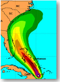 Duke Energy Florida Outage Map by Hurricane Track Shifts East Overnight Local News Scnow Com