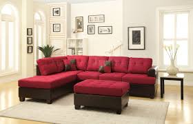 Modern Microfiber Sectional Sofas by Fabric Sectionals Microfiber Sectional Sofas Microsuede