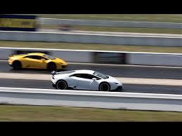 lamborghini murcielago vs gallardo lamborghini murcielago racing drag racing