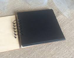 Bound Photo Albums Scrapbook Album Etsy