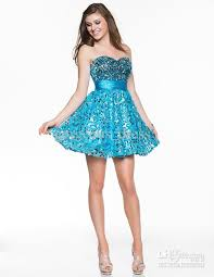 2013 gorgeous sweetheart ice blue shining prom party gowns shining