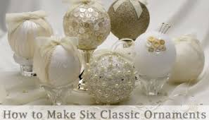 handmade ornaments diy a glittering ornament
