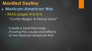 Multi Flow Map Westward Expansion Manifest Destiny And The Rise Of Sectionalism