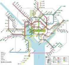 washington subway map washington metro map by j nelson leith wmata transit map