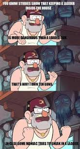 Funny Gravity Falls Memes - gruncle stan is so wise gravity falls he looks like the man