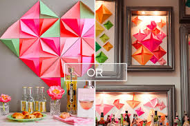 backdrop paper diy colorful folded paper backdrop