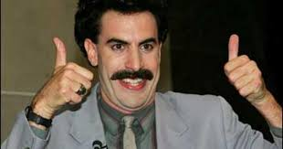 Borat Not Meme - borat conquers the blogs high five cbs news