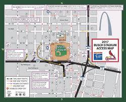 Royals Stadium Map Busch Stadium Parking Guide Tips Maps Deals Spg