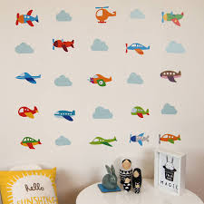plane wall stickers custom wall stickers