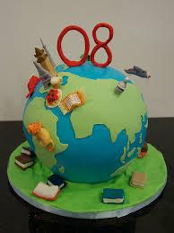 globe travel birthday cake birthday cakes cake and birthdays