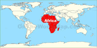 Cuba On A World Map by Africa World Map Roundtripticket Me