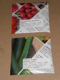 seed envelopes gardening in the boroughs of nyc how to make seed envelopes out