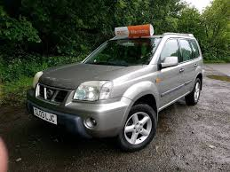nissan x trail 2003 2 owners diesel 4x4 mot june 2018 in