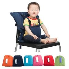 Booster Seat Dining Chair 5 Colors Portable Baby Sack Seat Kids Feeding Chair Safety Belt