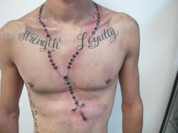 best chest tattoo quotes cloud with roses and heart tattoo on man chest jpg 612 612