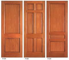 Solid Timber Front Door by High Quality Wooden Doors