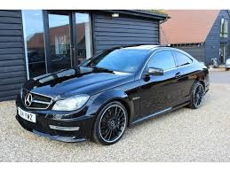 used mercedes c63 amg used 2014 mercedes c class c63 amg mct 2dr coupe 1 owner for