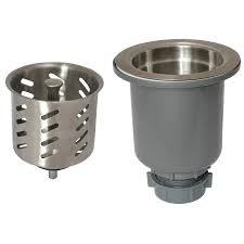Shop Keeney In Stainless Steel Kitchen Sink Strainer Basket At - Stainless steel kitchen sink strainer