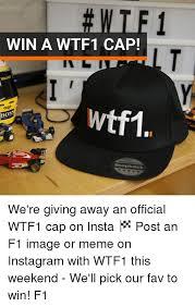 Meme Snapback - win a wtf1 cap lt walkir algo wtf1 bos snapback we re giving away