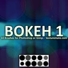 gimp design bokeh 1 brush pack for photoshop or gimp texturemate free