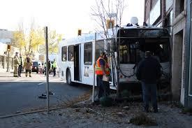 12 year old crashes stolen car into brandon bus say police
