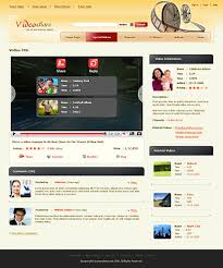 shopping cart css template for video sharing sites