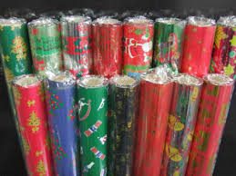 metallic christmas wrapping paper run run only 1 jumbo roll or multi packs stock up on