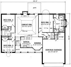 A Three Bedroom House Plan 59 Best Covered Porch Ranch Homes Images On Pinterest