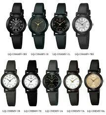 Jam Tangan Casio Diameter Kecil jual jam tangan original casio lq 139emv 1a hitam polos diameter
