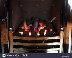 coal effect gas fire stock photos u0026 coal effect gas fire stock