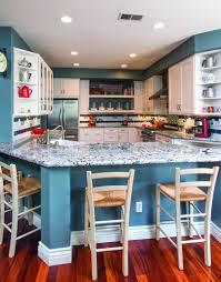 blue countertop kitchen ideas kitchen 30 colorful kitchen design ideas from hgtv navy blue
