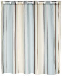 amazon com carnation home fashions ez on fabric shower curtain