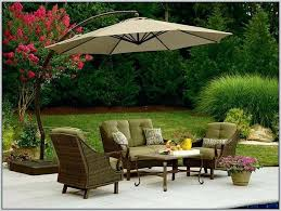Offset Patio Umbrella With Base Free Standing Garden Umbrella Exhort Me