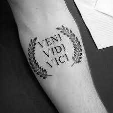 i came i saw i conquered tattoos small