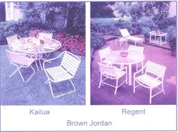 Vintage Brown Jordan Outdoor Furniture by Casual Refinishing The Midwest U0027s Premier Source For Pool And