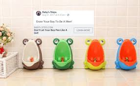 Home Urinal by A Company Is Selling Urinals For Baby Boys So They Don U0027t U0027pee Like