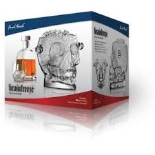 unique barware brainfreeze skull glass wine cooler gift