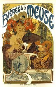 Photo Art Deco 18x24 Vintage French Advertisements Poster Art Nouveau Bieres De