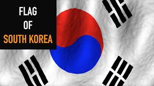 Flag Of South Korea Flag Of South Korea Taegukgi Youtube