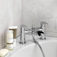 Bath Tap Shower Mixer Enki Modern Waterfall Designer Bath Filler Tap Shower Mixer Basin