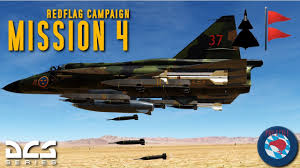 The Red Flag Campaign Ajs 37 Viggen 16 2 Red Flag Campaign Mission 4 Youtube