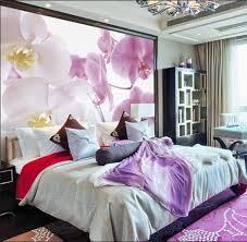 schlafzimmer fototapete schön fototapete schlafzimmer mit blumen motiv