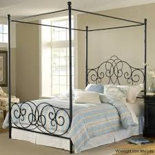 Iron Canopy Bed Frame Queen Wood Canopy Bed Queen Size Canopy Bed Frame Canopy Bed