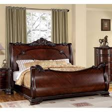 Astoria Grand Barstow Sleigh Bed Size California King Products - Grande sleigh 5 piece cal king bedroom set