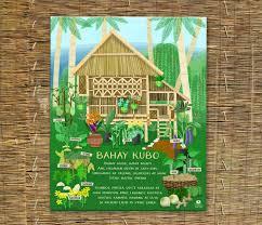 Bahay Kubo Design by Bahay Kubo Children U0027s Art Filipino Art Instant